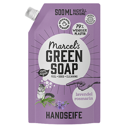Handeife Lavendel & Rosmarin 500ml Nachfüllpackung