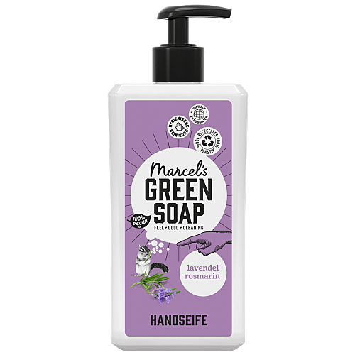 Handeife Lavendel & Rosmarin (im Seifenspender)