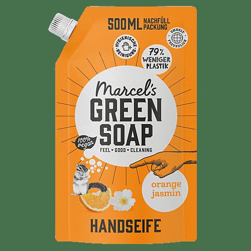 Handseife Orange & Jasmin 500ml Nachfüllpackung
