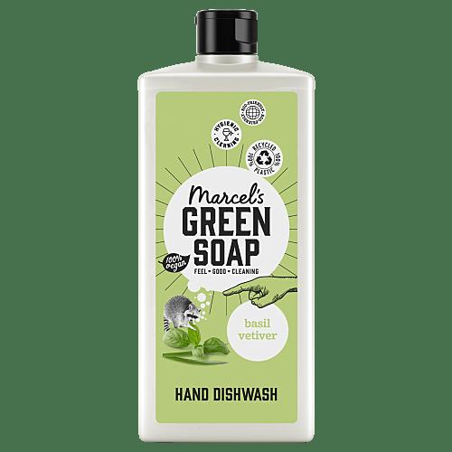 Dishwash Basil & Vetiver Grass (500ml)