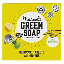 Dishwash Tablets Grapefruit & Lime (500ml)