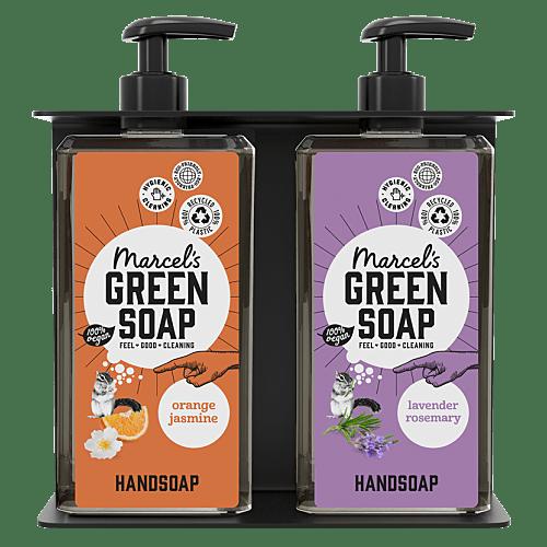 Soap Dispenser Holder Double