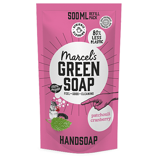 Hand Soap Refill Patchouli & Cranberry - 500ml