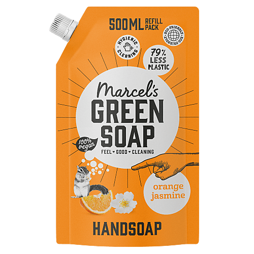 Hand Soap Refill Orange & Jasmine - 1L