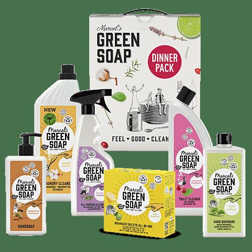 Marcel's Green Soap Dinner Pack